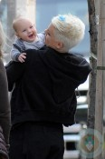 Pink (Alecia Moore) with daughter Willow