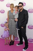 Nicole Richie attends an event officially inducting Rapunzel into the Disney Princess Court at Kensington Palace