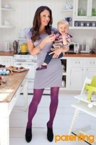 Bethenny Frankel with daughter Bryn Hoppy