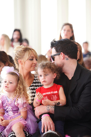 Nicole Richie and Joel Madden celebrate Rapunzel's coronation