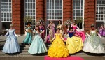 All 10 Disney Princesses at Disney's Rapunzel's Royal Celebration event in Kensington Gardens in central London