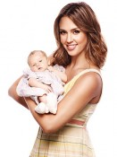 Jessica Alba with daughter Haven