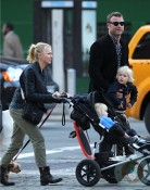 Naomi Watts and Liev Schreiber with their boys Sammy and Sasha