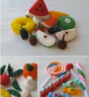 Yummy Felt Food from Pachom!