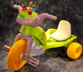 RECALL: 12,000 Kiddieland Disney-branded Fairies Plastic Trikes Due to Laceration Hazard
