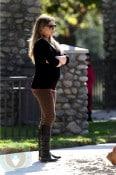 Pregnant Hilary Duff