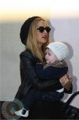 Rachel Zoe and son Skylar Berman in LA