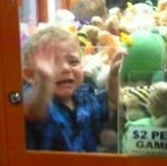 Another Toddler Becomes Trapped Inside A Vending Machine