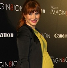 A Very Pregnant Bryce Dallas Howard Walks The Red Carpet in NYC!