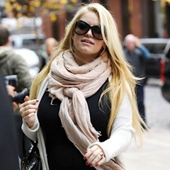 Jessica Simpson Is In Full Bloom in NYC!