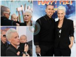 Alecia Moore and Carey Hart With Willow @Happy Feet Prem