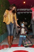 Brooke Burke and son Shaya Charvet at the Harajuku Mini Collection for Target launch