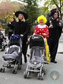 Naomi Watts and Liev Schreiber out with sons Sammi and Sasha for Halloween in NYC