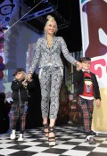 Gwen Stefani with sons Kingston and Zuma at the launch of Harajuku Mini Collection for Target