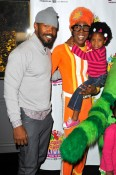 Jamie Foxx and Lance Robertson at Yo Gabba Gabba Live!