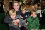Julie Bowen with sons at Baby2Baby event