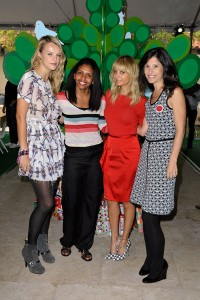 Kelly Patricof, Ayana Green-Oliver, Nicole Richie and Norah Weinstein attend the Baby2Baby
