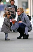 Kelly Rutherford with daughter Helena Giersch in NYC