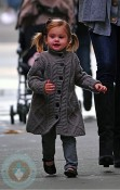 Kelly Rutherford's daughter Helena Giersch in NYC