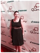 Lisa Arneill at the Quinny Q Design Collection event