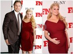 Pregnant Jessica Simpson & Eric Johnson on the red carpet in NYC