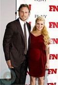 Pregnant Jessica Simpson and Eric Johnson on the red carpet in NYC