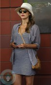 Pregnant Keri Russell @ US Open