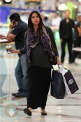 Pregnant Roselyn Sanchez out shopping