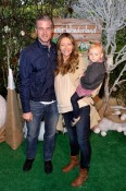 Rebecca Gayheart with Eric and Billie Dane