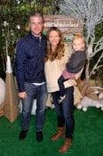 Rebecca Gayheart with Eric and Billie Dane