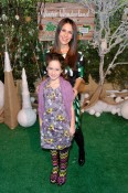 Soleil Moon Frye with daughter Poet at Baby2Baby event
