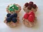 felt mini pies