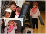 jessica Alba and daughter Honor At The SPA