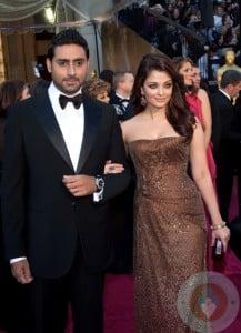 Aishwarya Rai and her actor husband Abhishek Bachchan