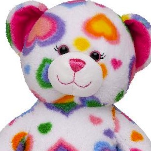 RECALL: 297,000 Build-A-Bear Colorful Hearts Teddy Bears Due to Choking Hazard