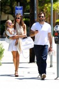 Alessandra Ambrosio and fiance Jamie Mazur with daughter Anja