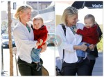 Ali Larter with Theodore at the Doctors