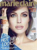 Angelina Jolie Covers Jan 2012 Marie Claire