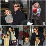 Brad and Angelina treat the kids to FAO Schwartz