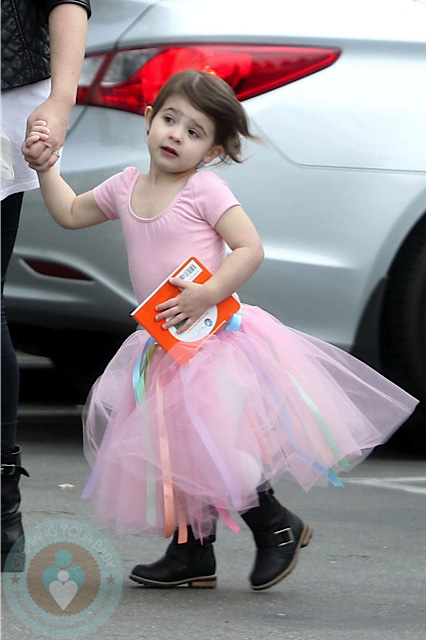 Charlotte Prinze At Ballet Class Growing Your Baby