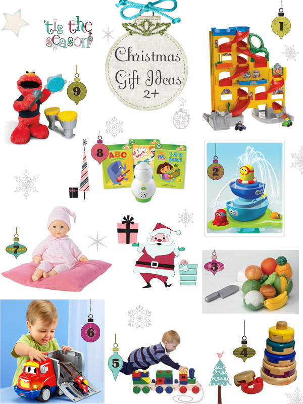 christmas gift ideas for kids age 2 and up