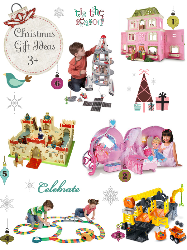 Holiday Gift Guide ~ 13 Ideas For Kids 3+