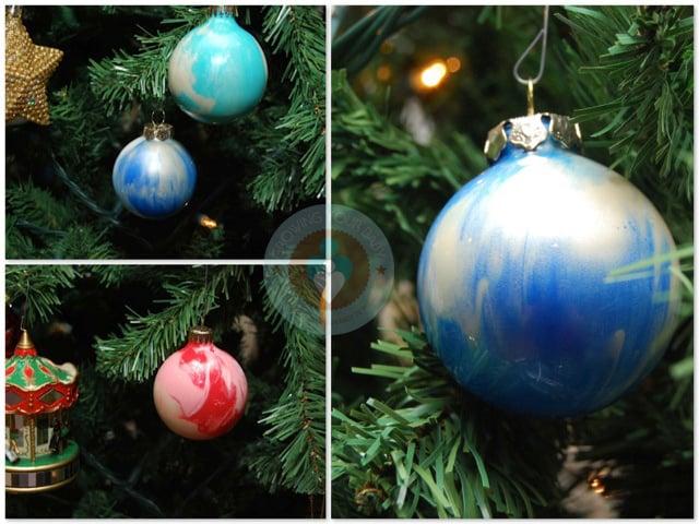 Easy beautiful diy christmas ornament craft for Beautiful diy christmas ornaments