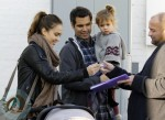Jessica Alba and Cash Warren Christmas Shopping WIth Their Girls