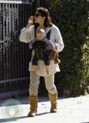 Selma Blair with son Arthur