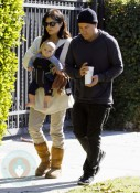 Selma Blair with Jason Bleick and son Arthur