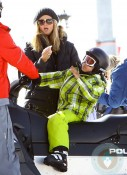 Heidi Klum and Johan Samuel in Aspen