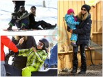 Heidi Klum and Seal spend the holidays in Aspen