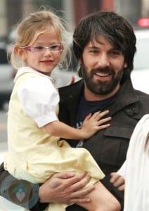 Ben Affleck with daughter Violet in LA