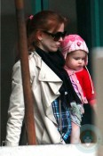 Isla Fisher and daughter Elula at the GYM in LA 2